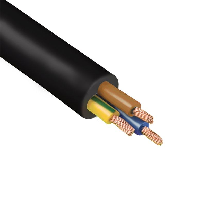 Кабель и провод - Провод соединительный ПВС 3х0,75 000001284 черный - Фото 1
