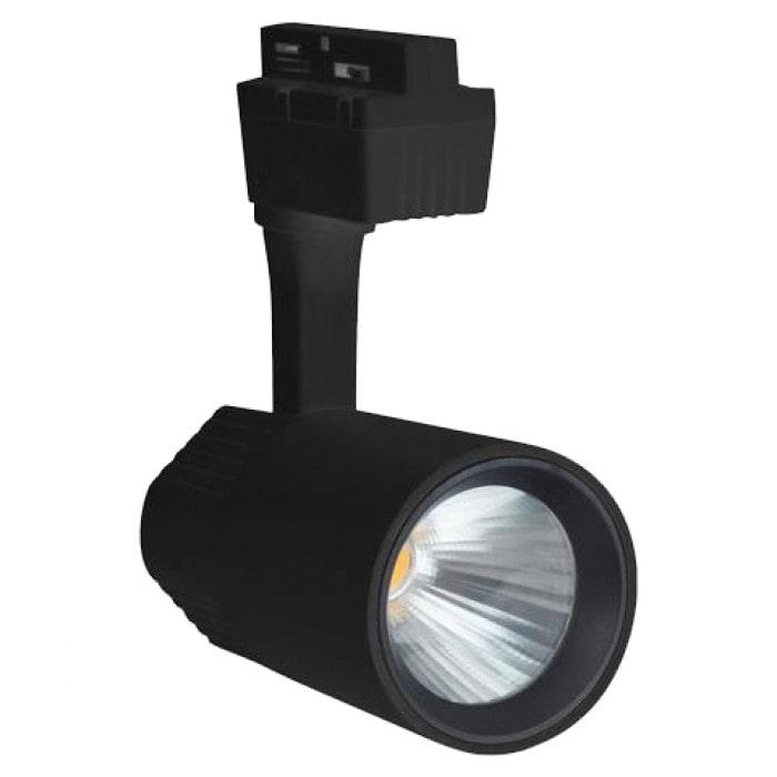 Лед трековое освещение - Светильник трековый COB LED 30W 4200K черный VARNA 000001449 - Фото 1