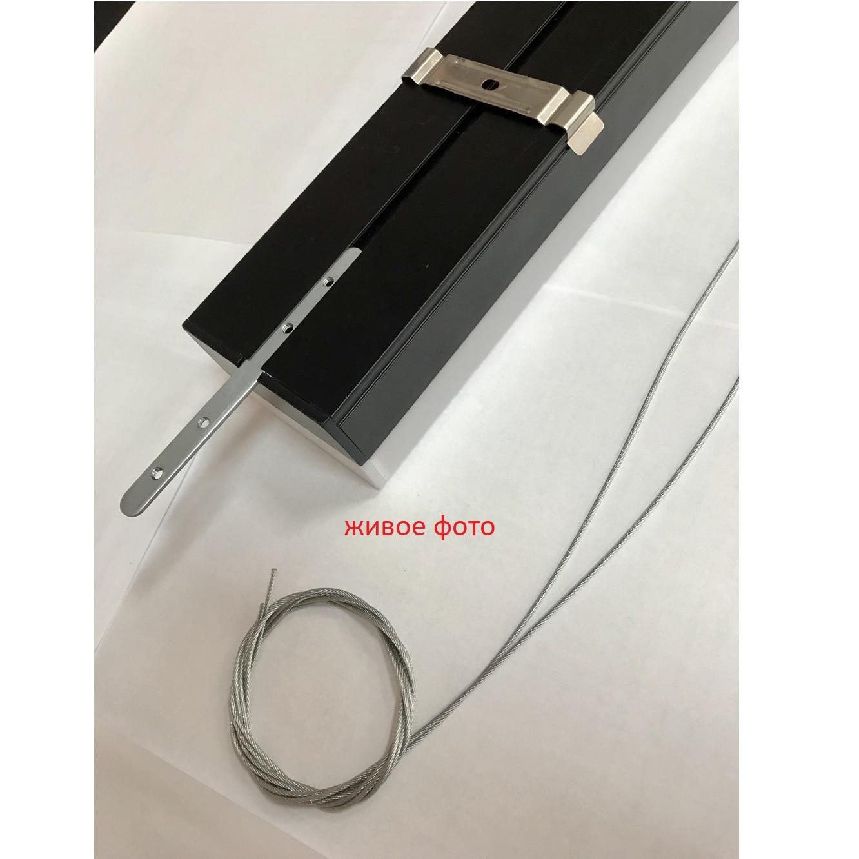 Светодиодное освещение - LED светильник подвесной 36 Вт 003 черный 1200 6500К 000001824 - Фото 4