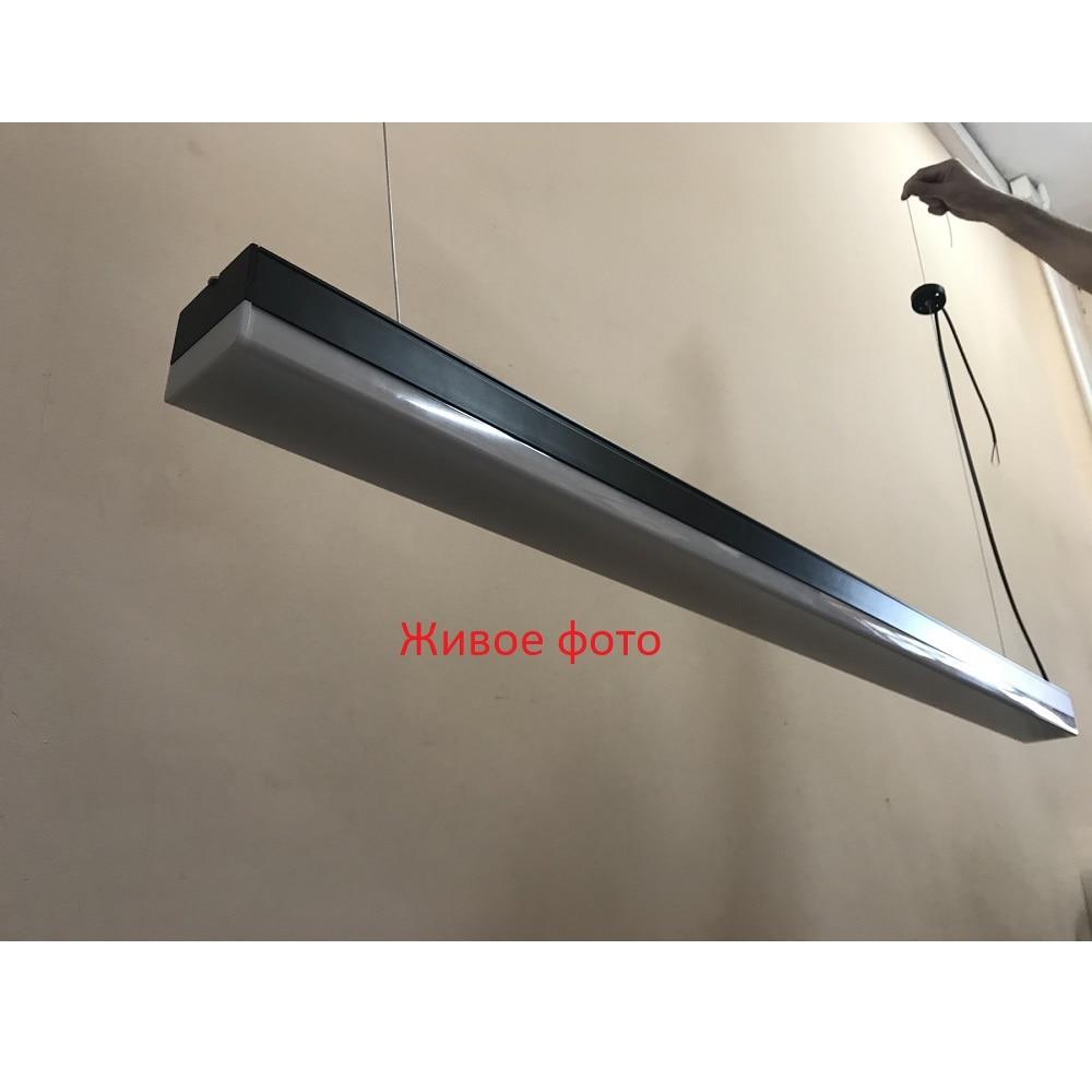 Светодиодное освещение - LED светильник подвесной 36 Вт 003 черный 1200 6500К 000001824 - Фото 3