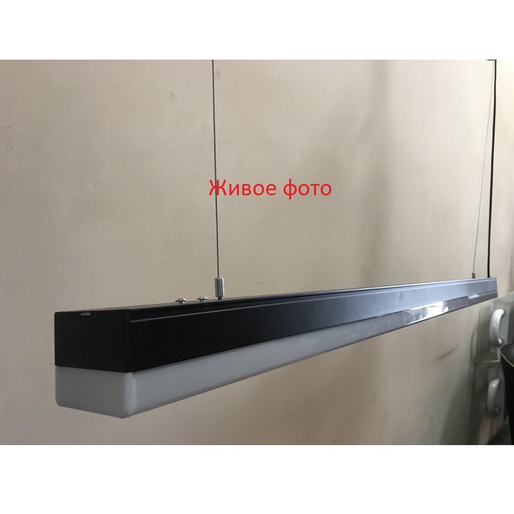 Светодиодное освещение - LED светильник подвесной 36 Вт 003 черный 1200 6500К 000001824 - Фото 2