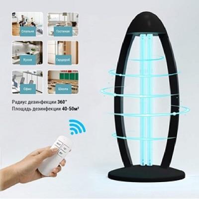 Светодиодное освещение - Светильник бактерицидный черный 36Вт 000001828 - Фото 1