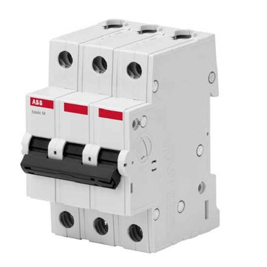 """Автоматические выключатели - Авт. выключатель ABB Basic M, 3p, 50А,  """"В"""" 000001962 - Фото 1"""