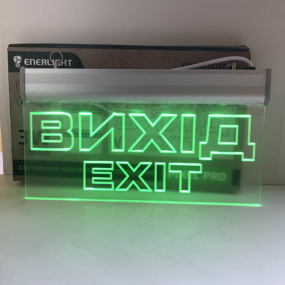 Светодиодное освещение - Аварийный светодиодный светильник ENERLIGHT PIXEL PRO 3ВТ NICD 3H ВИХІД 000002119 - Фото 2