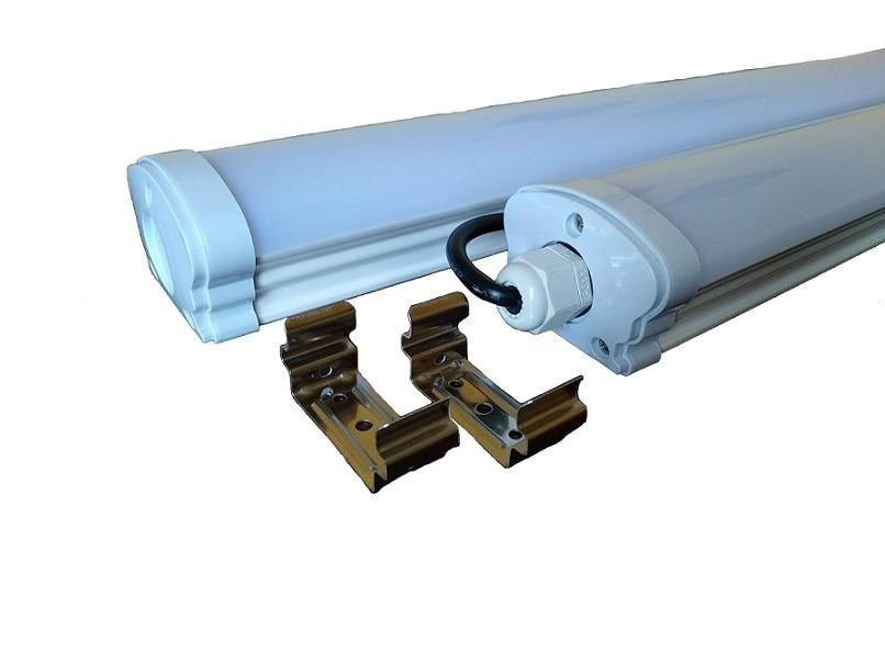 Пылевлагозащищенные светильники и корпуса IP65 - Светильник LED TNSy 20W-600-6500K ЛПП 2х600 000000395 - Фото 1