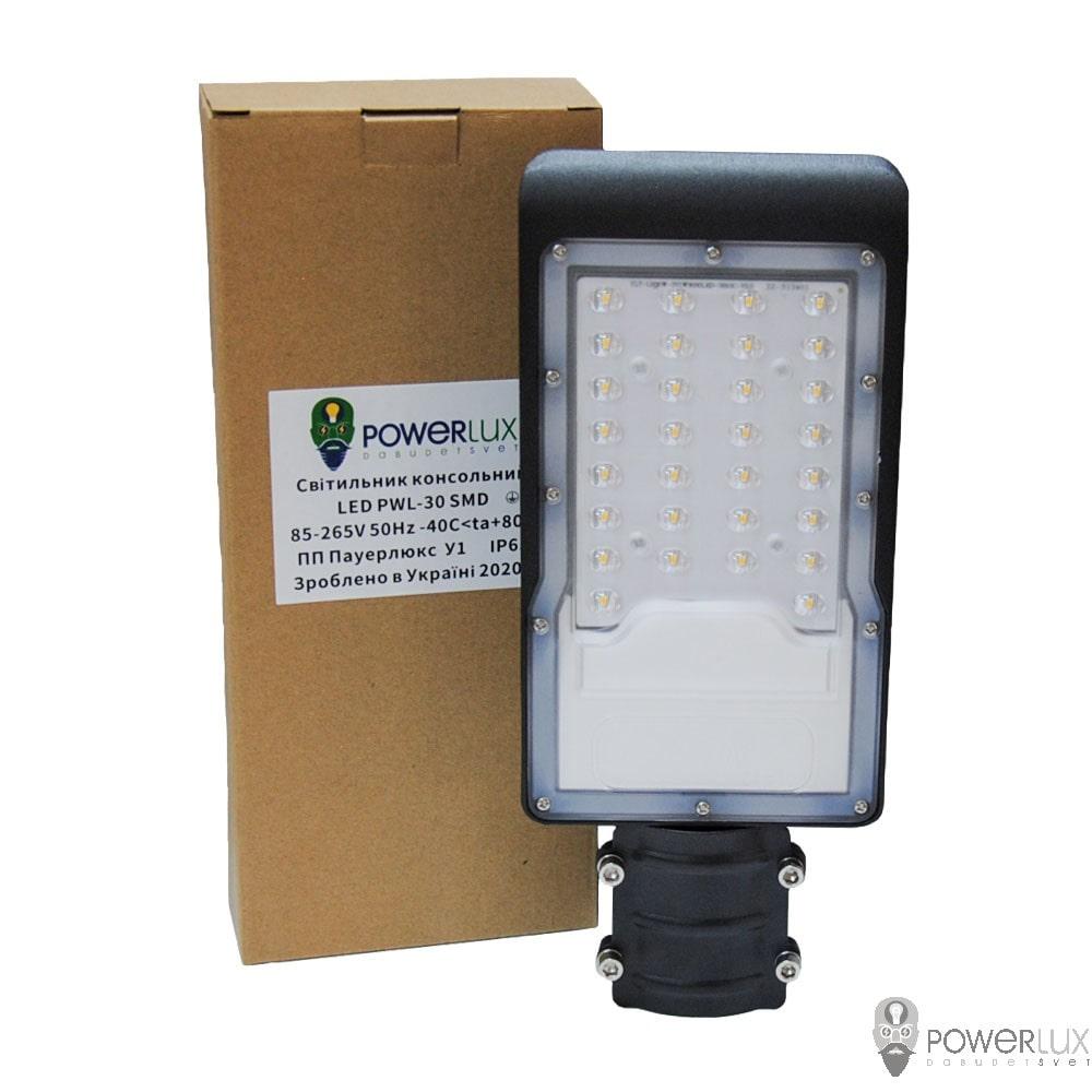 Уличные LED светильники - Светильник светодиодный консольный PWL 30W IP65-ZT 000002429 - Фото 6