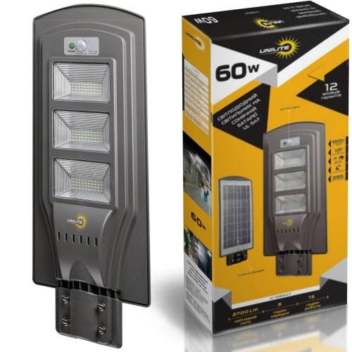 на столбы - Уличные фонари на солнечных батареях UNILITE 60W 000000583 - Фото 1
