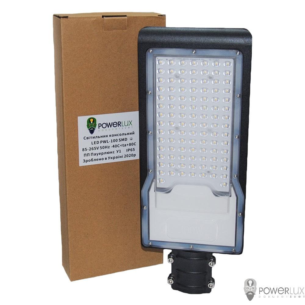 Уличные LED светильники - Светильник светодиодный консольный PWL 100W IP65-ZT 000002431 - Фото 2