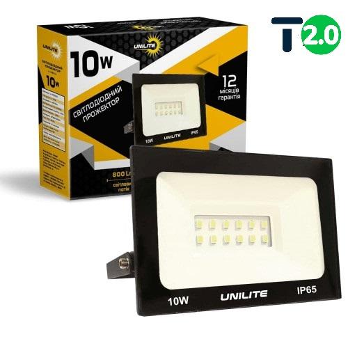Светодиодное освещение - Светодиодный прожектор UNILITE 10W 800lm 000000555 - Фото 1