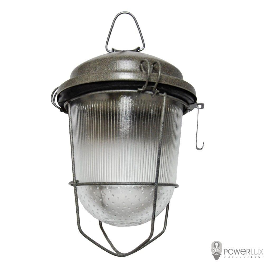 Пылевлагозащищенные светильники и корпуса IP65 - Светильник LED PWL НСП-100 40W крюк с решеткой 000002518 - Фото 1