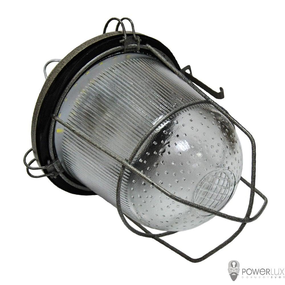 Пылевлагозащищенные светильники и корпуса IP65 - Светильник LED PWL НСП-100 40W крюк с решеткой 000002518 - Фото 3