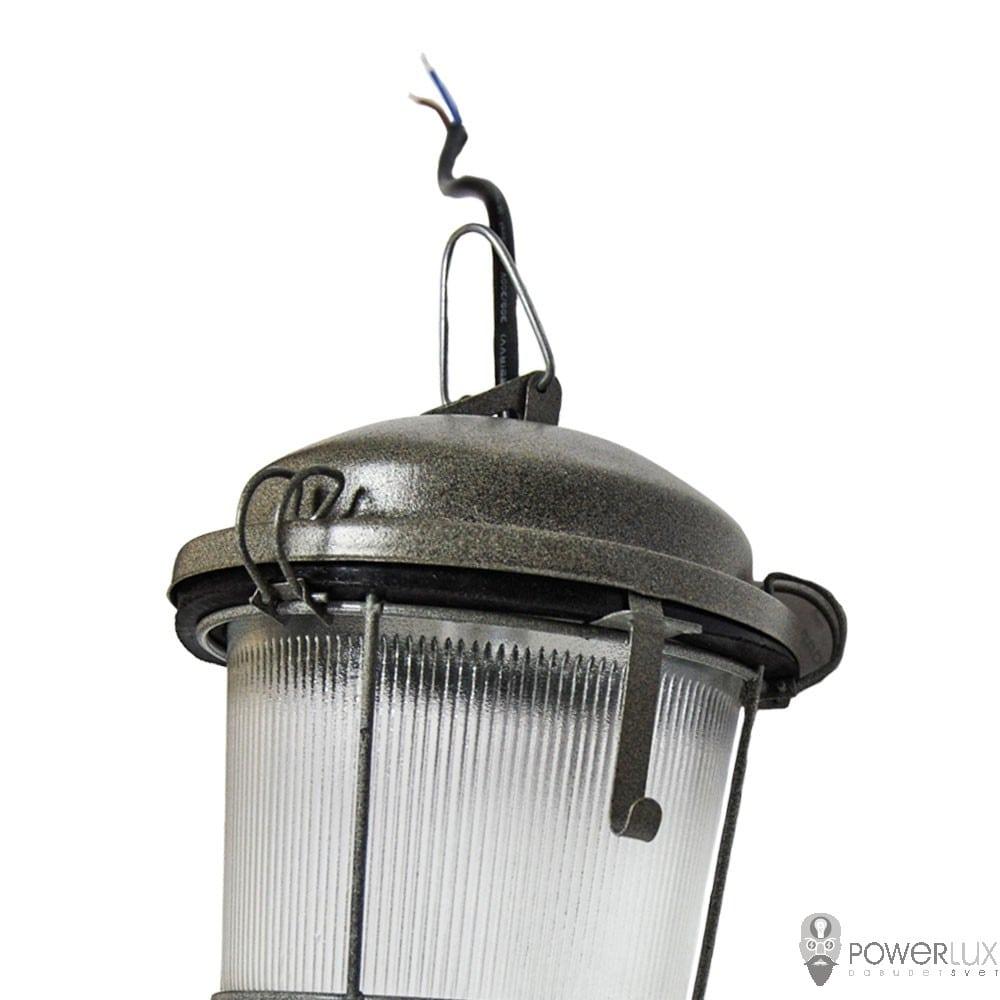 Пылевлагозащищенные светильники и корпуса IP65 - Светильник LED PWL НСП-100 40W крюк с решеткой 000002518 - Фото 5