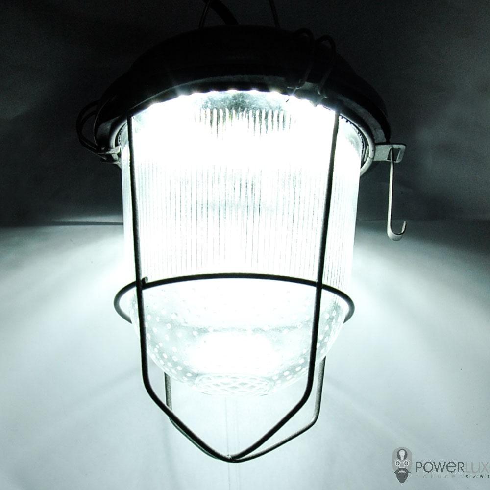 Пылевлагозащищенные светильники и корпуса IP65 - Светильник LED PWL НСП-100 40W крюк с решеткой 000002518 - Фото 7