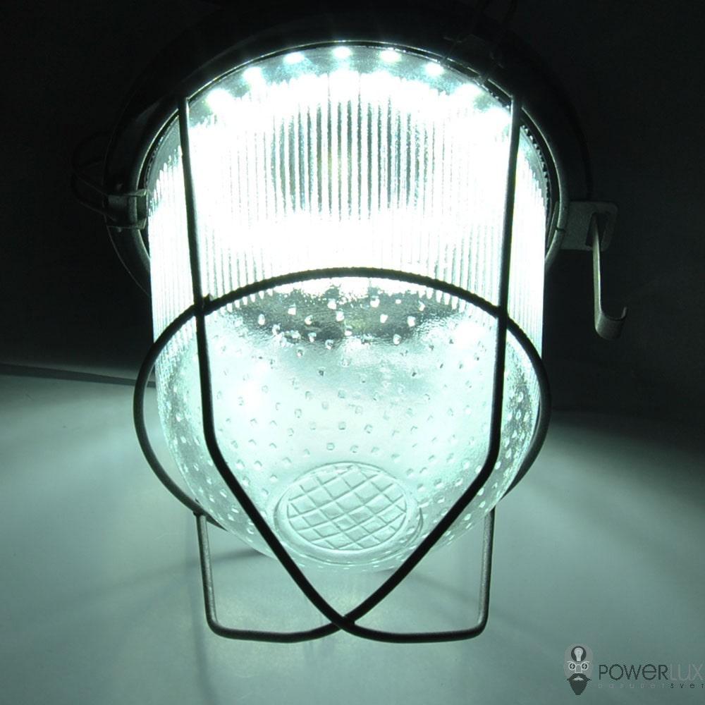 Пылевлагозащищенные светильники и корпуса IP65 - Светильник LED PWL НСП-100 40W крюк с решеткой 000002518 - Фото 2