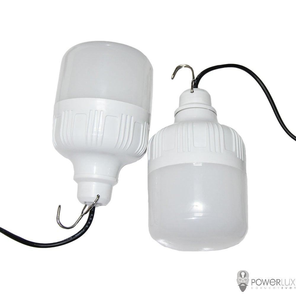 Светодиодное освещение - Автонономна LED лампа PWLw25-66 2х25w 000002453 - Фото 2