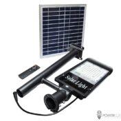 Светильник светодиодный консольный SOLAR 100W с солнечной панелью