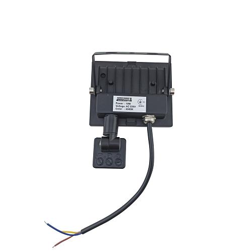 Прожекторы светодиодные LED - LED прожектор TNSY с датчиком движения 10W ULTRA 900Lm 6500K IP65 000002595 - Фото 2
