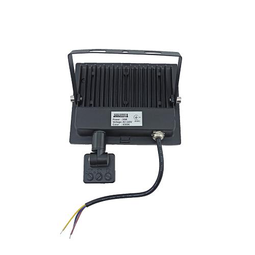 Прожекторы светодиодные LED - LED прожектор TNSY с датчиком движения 30W ULTRA 1800Lm 6500K IP65 000002597 - Фото 2