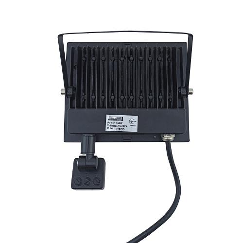 Прожекторы светодиодные LED - LED прожектор TNSY с датчиком движения 50W ULTRA 4500Lm 6500K IP65 000002598 - Фото 2