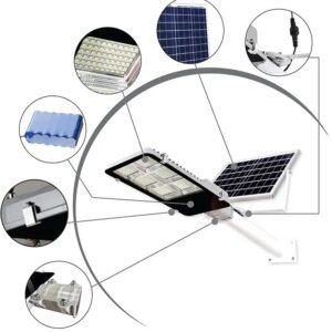 Фонарь на солнечной батарее 100Вт уличный FOYU 000002650 3