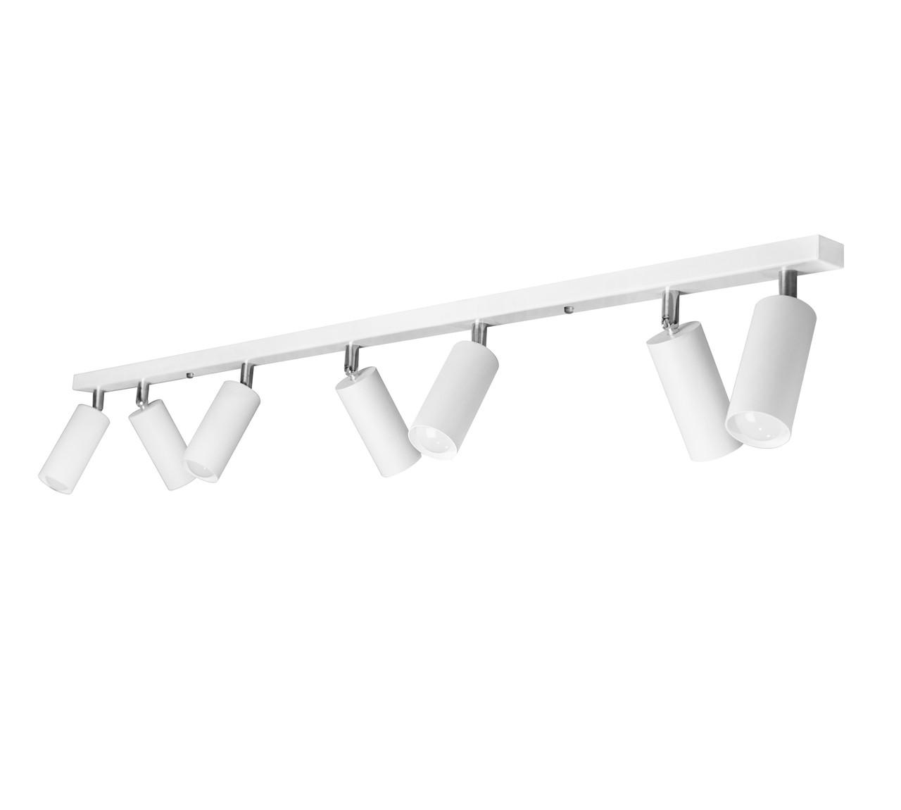 Светильники ЛОФТ - Люстра лофт с поворотным механизмом белая 000002675 - Фото 1