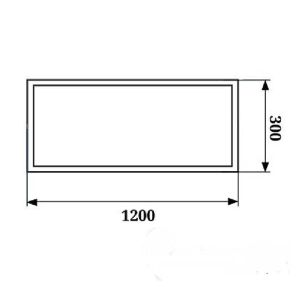 Светодиодное освещение - LED Панель 300х1200 36Вт 6000К PWL 000002629 - Фото 2
