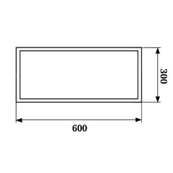 Светодиодное освещение - LED Панель 300х600 20Вт 6000К PWL 000002627 - Фото 2