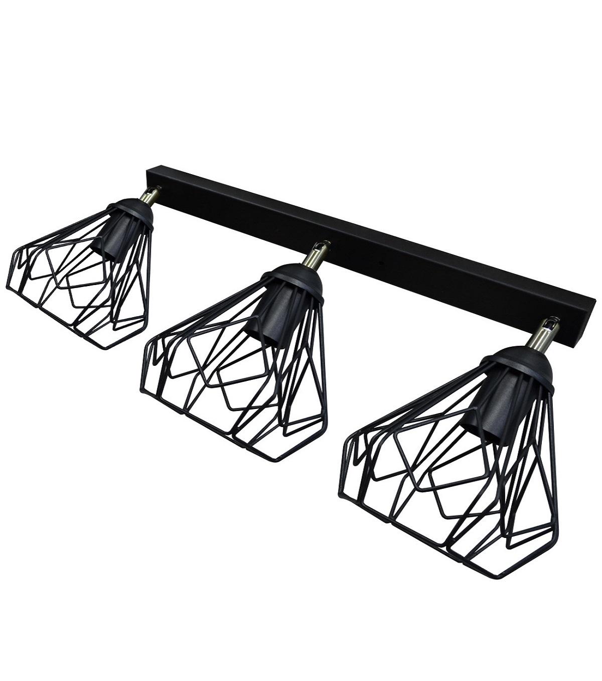 Светильники ЛОФТ - Люстра лофт потолочная с поворотным плафоном 000002786 - Фото 1