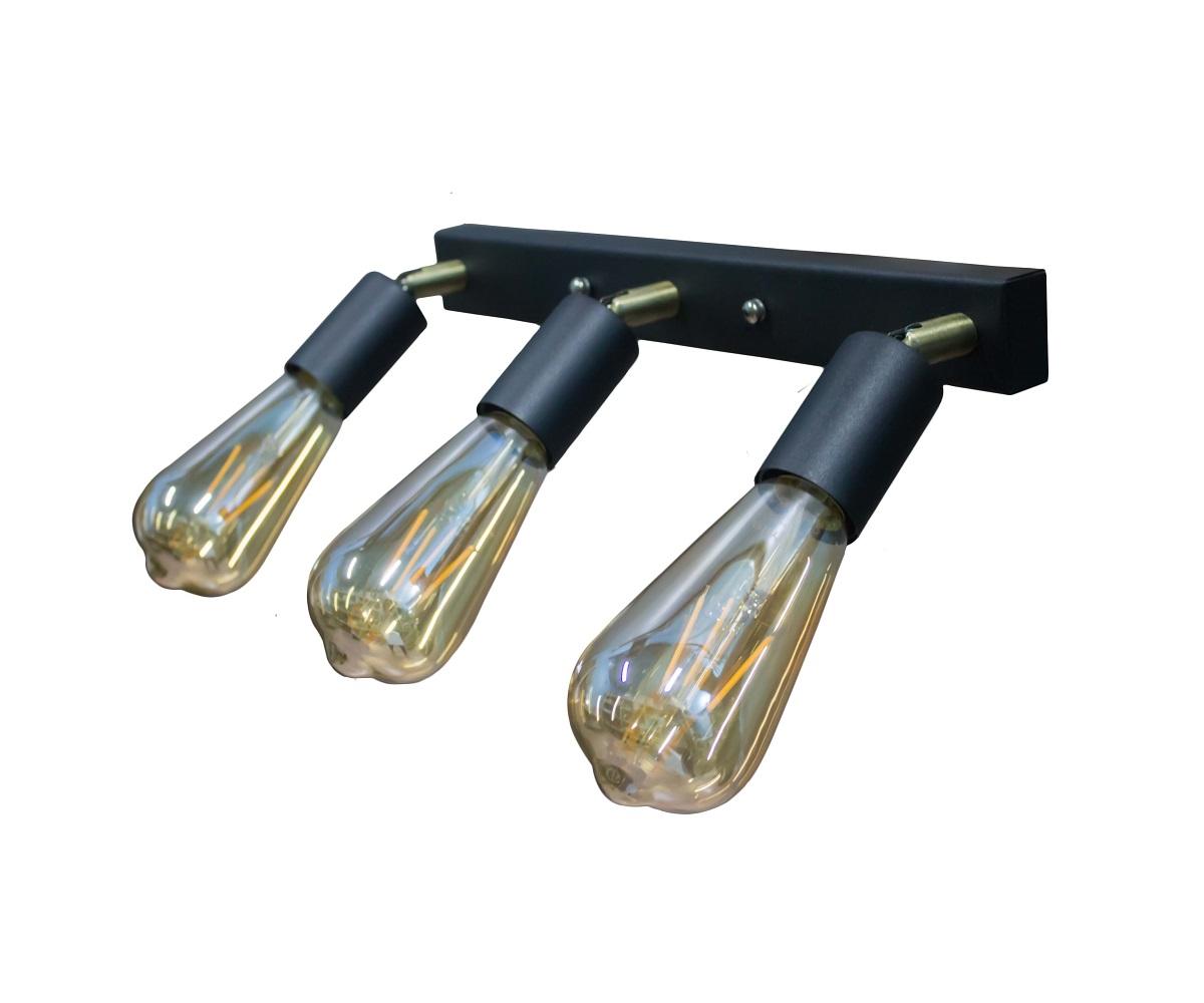 Светильники ЛОФТ - Люстра лофт потолочная с поворотным плафоном 000002776 - Фото 1