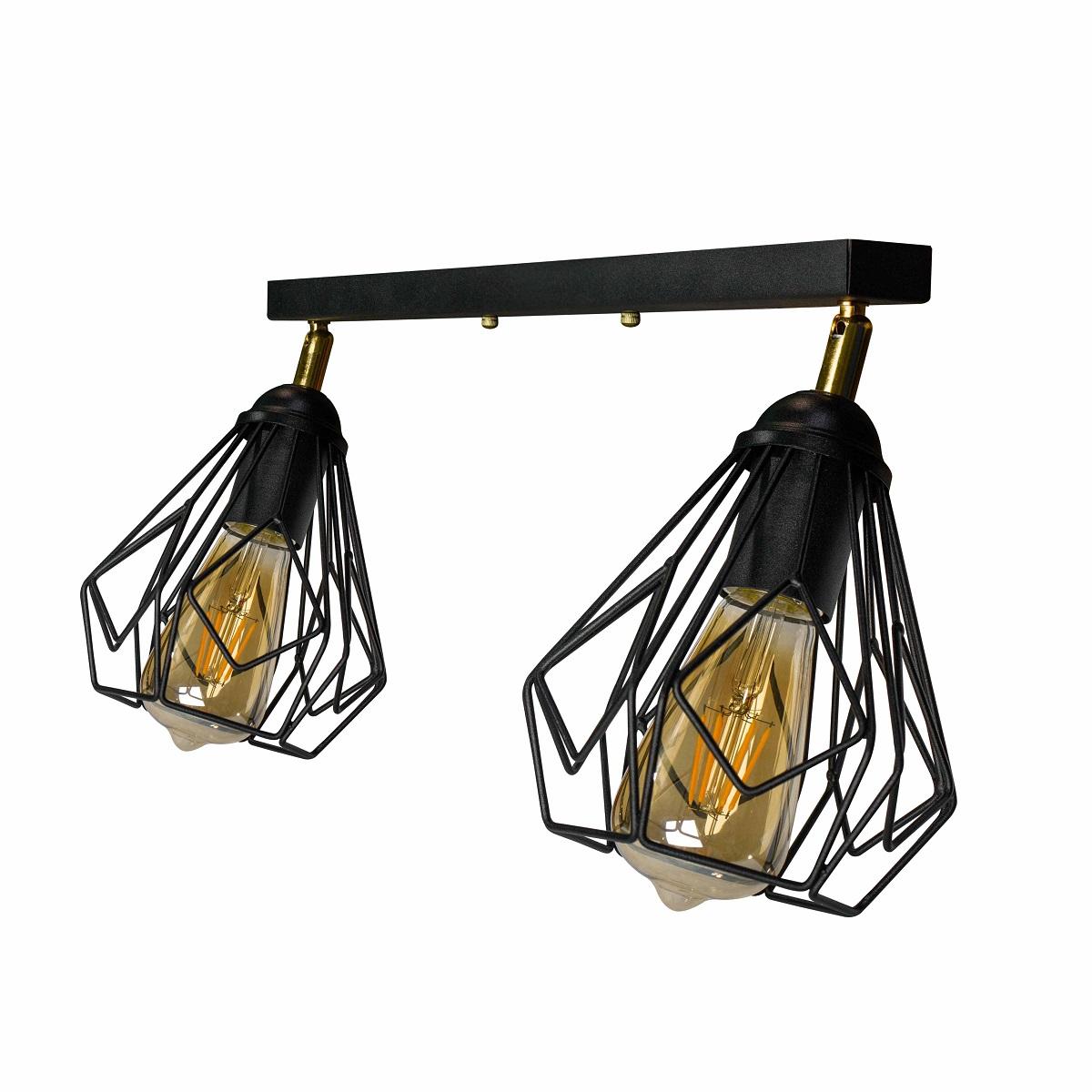 Светильники ЛОФТ - Люстра лофт потолочная с поворотным плафоном 000002782 - Фото 3