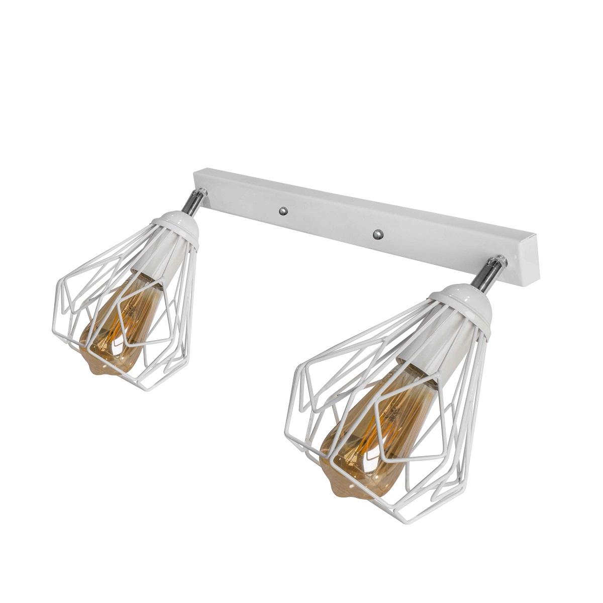 Светильники ЛОФТ - Люстра лофт потолочная с поворотным плафоном 000002784 - Фото 1