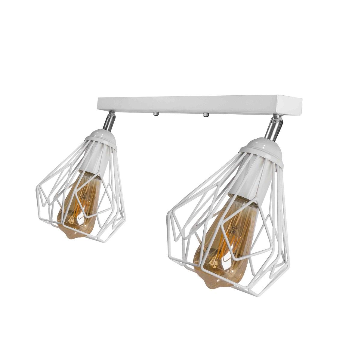 Светильники ЛОФТ - Люстра лофт потолочная с поворотным плафоном 000002784 - Фото 3
