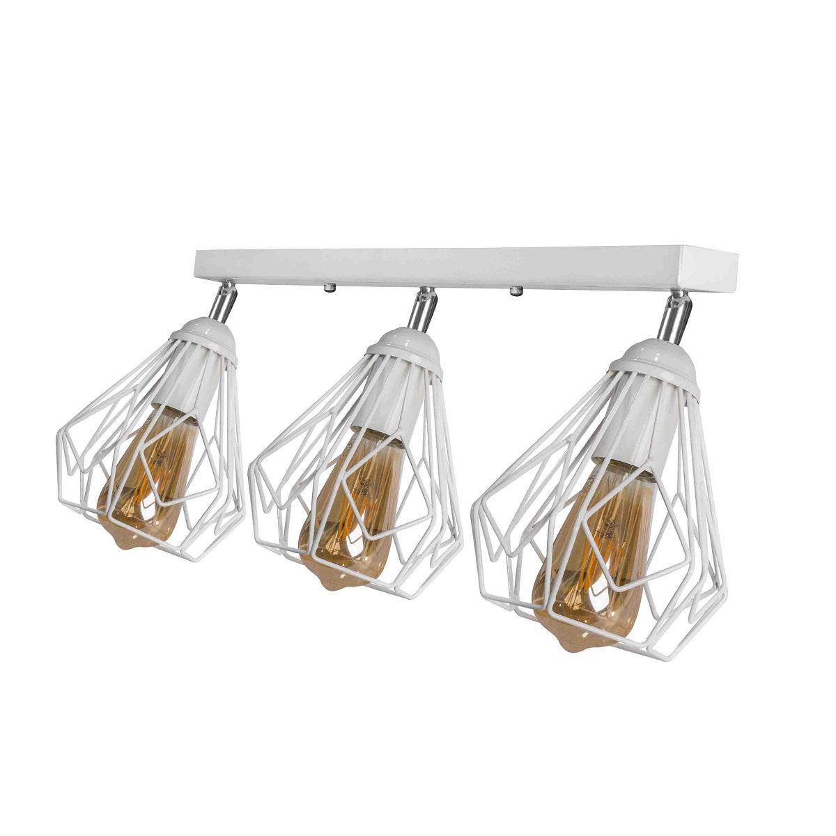 Светильники ЛОФТ - Люстра лофт потолочная с поворотным плафоном 000002794 - Фото 1